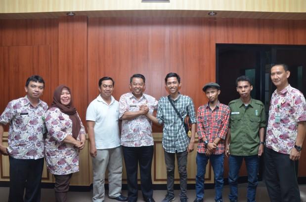 Website Resmi Kabupaten Bogor Kadiskominfo Terima Audiensi